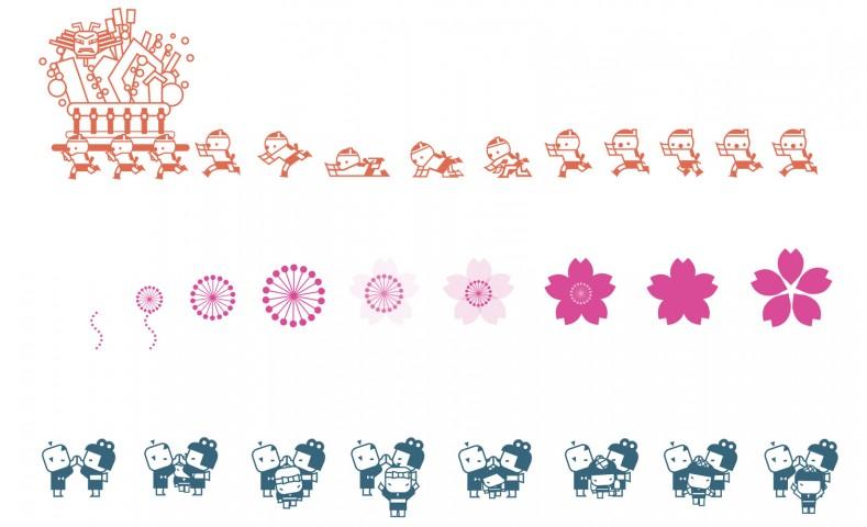 尹 正阿 / 「動き」を用いた福岡市地下鉄のピクトグラム制作 / 佐藤 優 教授